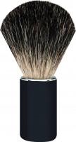 "Erbe Shaving Brush Badger Hair Aluminum black ""Premium Design BERLIN"""