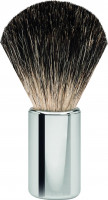 "Erbe shaving brush Badger hair stainless steel shiny ""Premium Design BERLIN"""