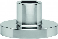 "Erbe Shaving holder stainless steel shiny, ""Premium Design Berlin"""