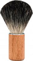 """Erbe Shaving Brush Badger Hair Maple wood """"Premium Design BERLIN"""""""