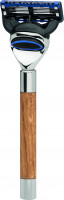 "Razor |Gillette® Fusion™| Oak Wood ""Premium Design Berlin"""