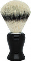 "Erbe shaving synthetic hair precious resin black ""Premium Design BARCELONA"""